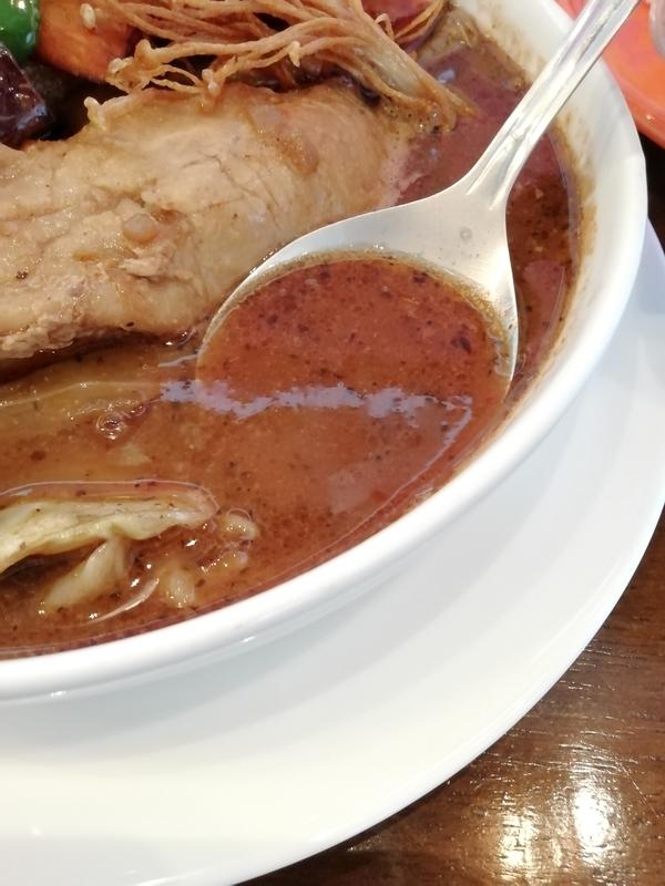 スープカリーおにっこさんのカリースープ