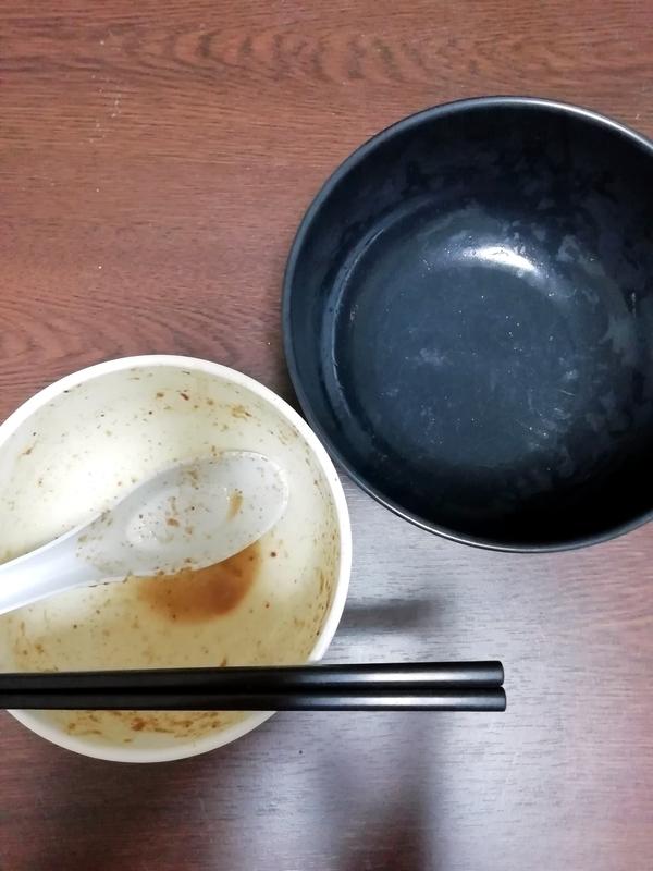 中華蕎麦 とみ田 つけそば@宅麺を完食・完飲。