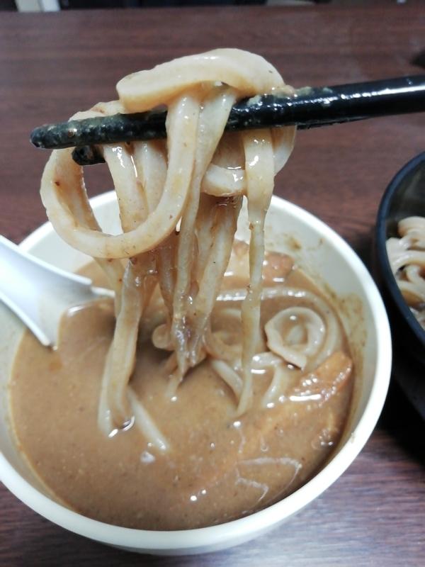 中華蕎麦 とみ田 つけそば@宅麺の麺