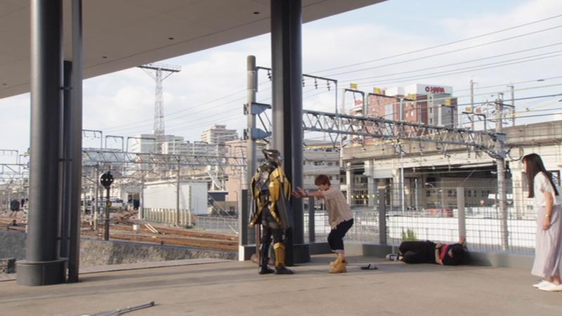 仮面ライダージオウ NEXT TIME ゲイツ、マジェスティ ソウゴがゲイツを守る