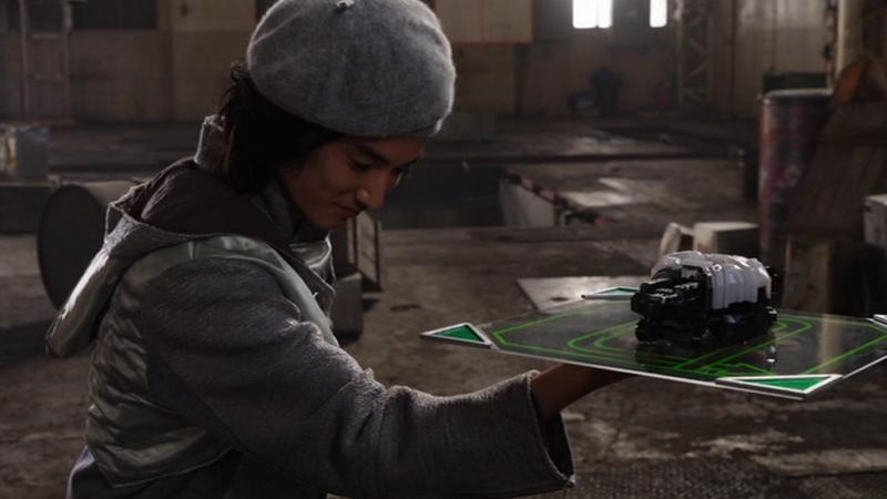 仮面ライダージオウ NEXT TIME ゲイツ、マジェスティ ゲイツにジクウドライバーを差し出す白ウォズ