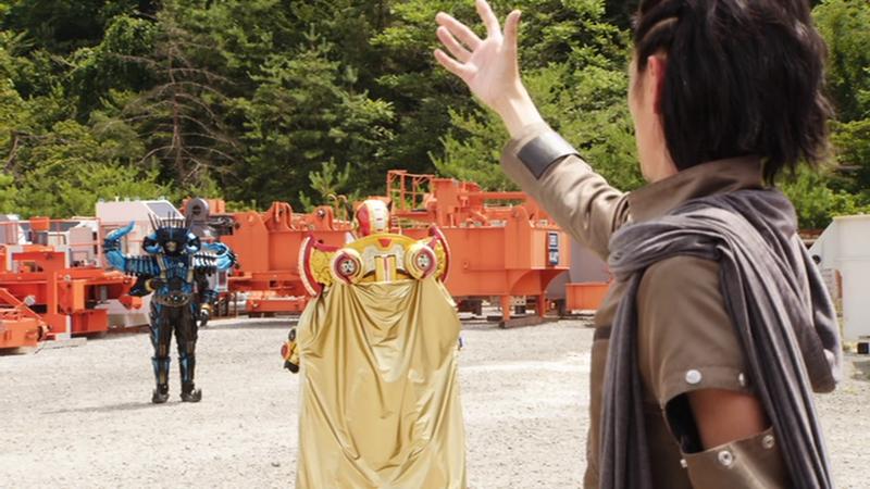 仮面ライダージオウ NEXT TIME ゲイツ、マジェスティ ゲイツマジェスティを祝うウォズ