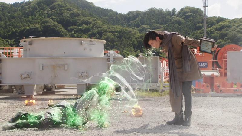 仮面ライダージオウ NEXT TIME ゲイツ、マジェスティ 白ウォズを吸い取る黒ウォズ