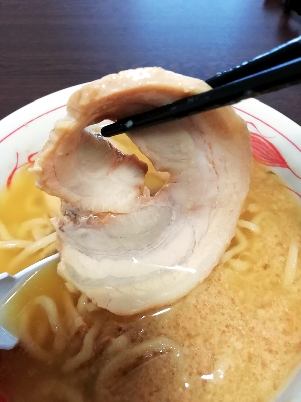 超ごってり麺 ごっつ ごってりみそラーメン@宅麺のチャーシュー