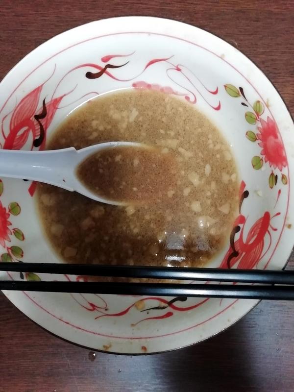 俺の生きる道 夢のラーメン@宅麺を完食。