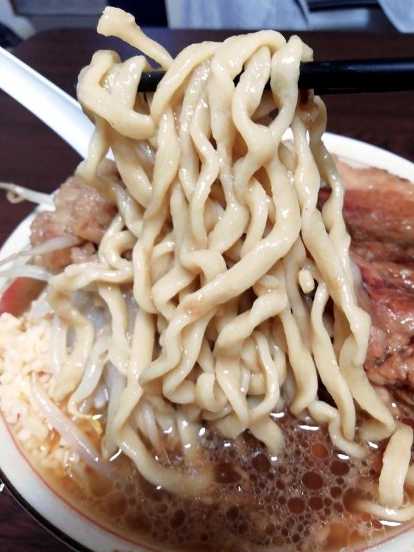 俺の生きる道 白山店 (旧夢を語れ東京) 夢のラーメン@宅麺の麺