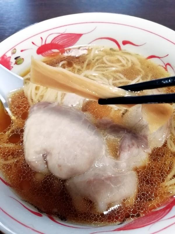 飯田商店 友情しょうゆらぁ麺@宅麺のメンマ