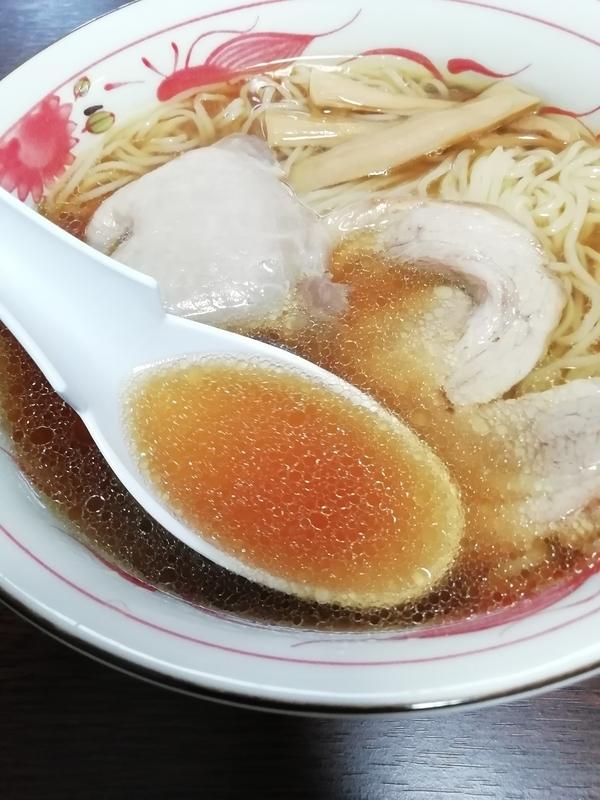 飯田商店 友情しょうゆらぁ麺@宅麺のスープ