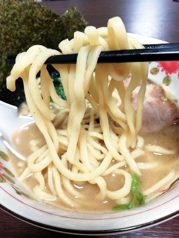 横浜家系 作田家 暴君RA-MEN@宅麺の麺