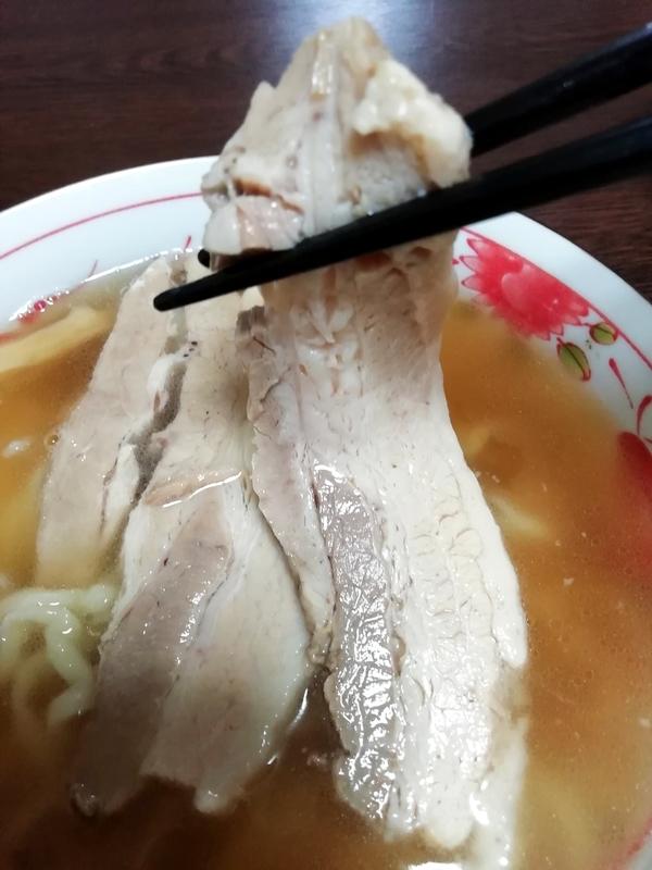 麺や大山 醤油ラーメン@宅麺のチャーシュー