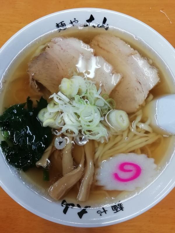 麺や大山さんのらーめん 600円(税別)
