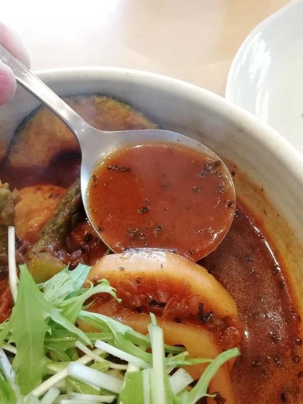 スープカリーNecoさんのトマトスープ