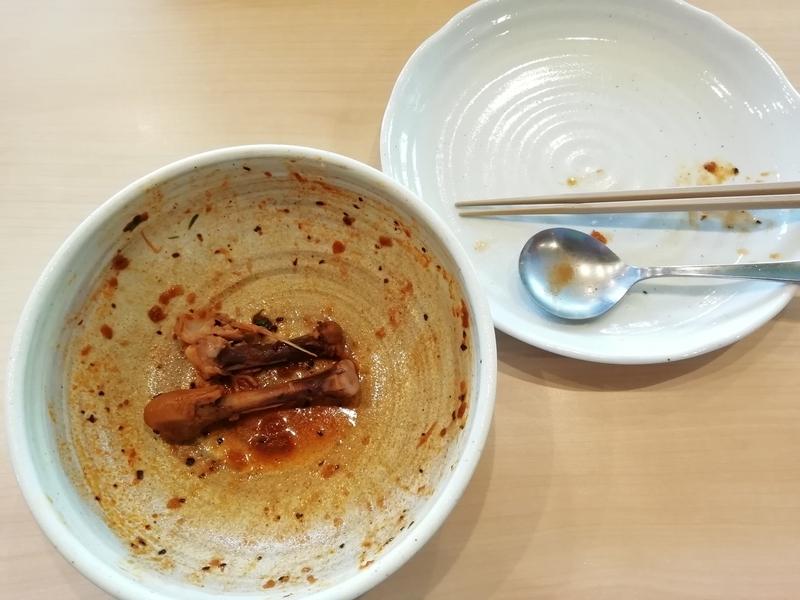 スープカリーNecoさんのチキンベジタブルカリーを完食