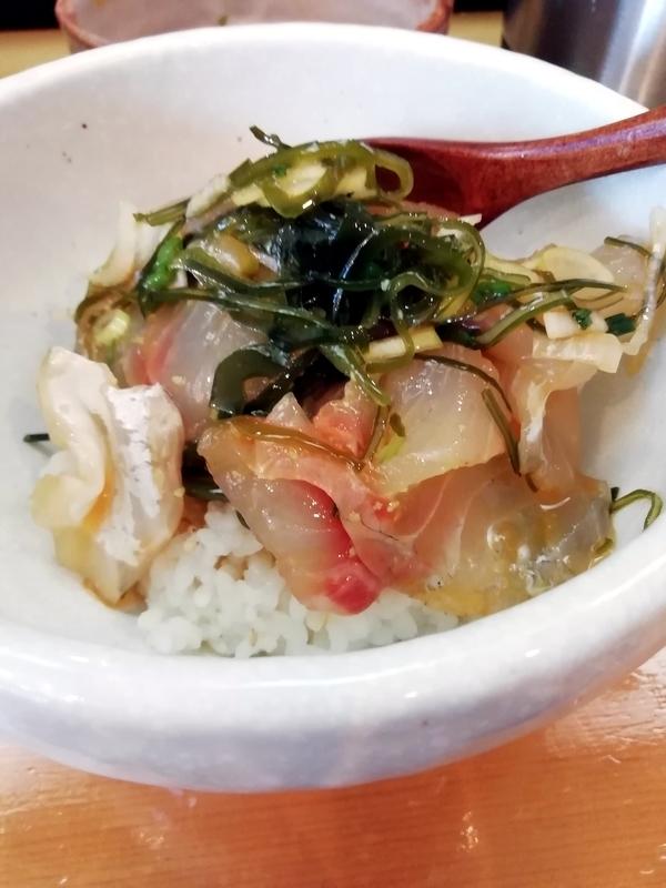 讃岐ラーメン 香麦 -komugi-さんの鯛めし 450円