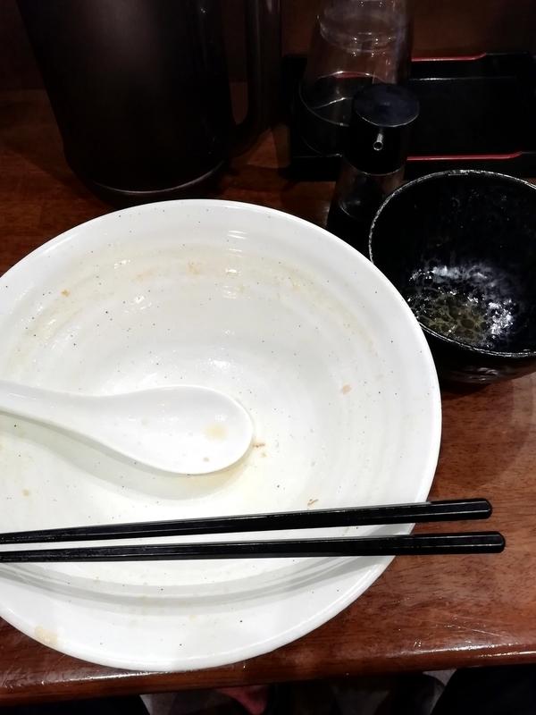 自家製多加水極太麺 ISAMIさんの特製煮干醤油とBeef TKGを完食・完飲
