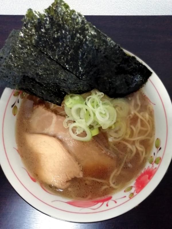 海練さんの和風ラーメン(醤油)
