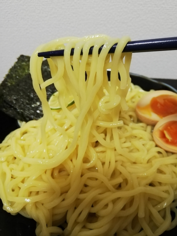 つじ田 濃厚つけ麺@ヌードルツアーズの麺