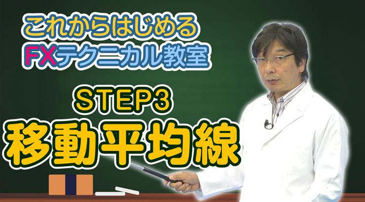「STEP3 移動平均線」