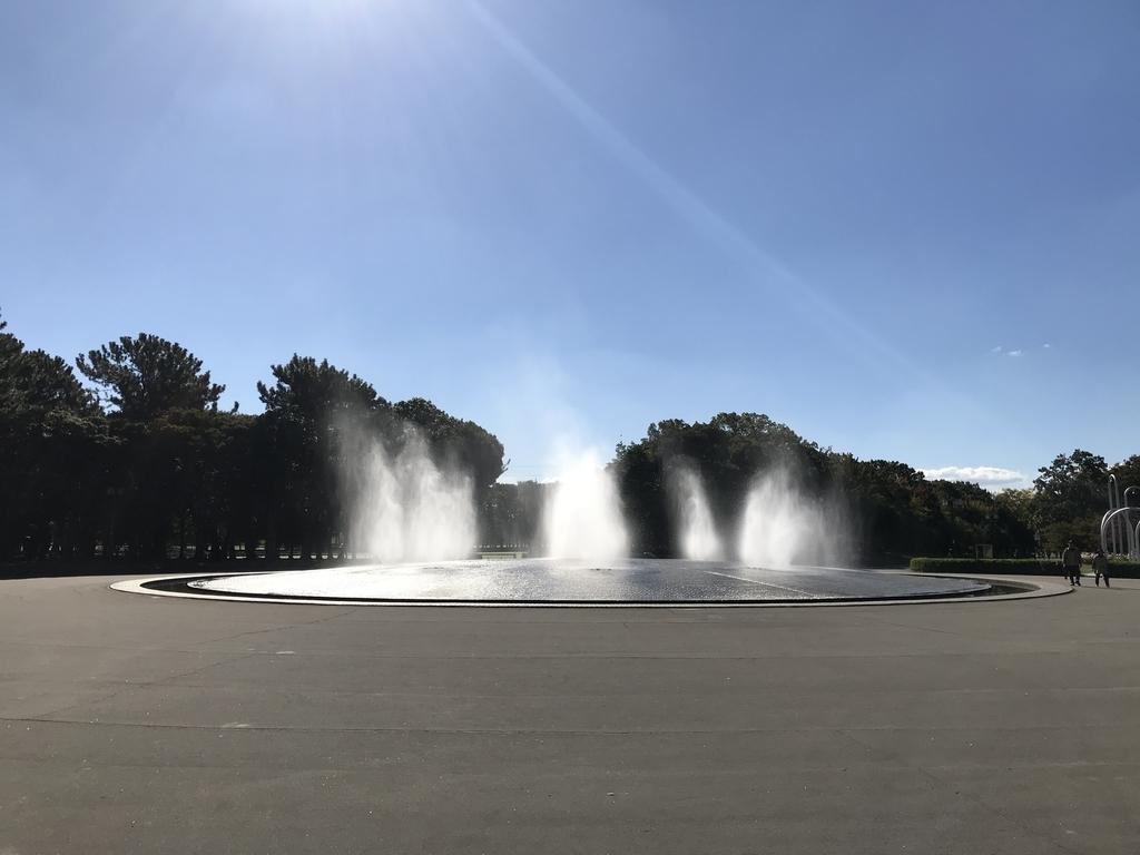 庄内緑地公園の大噴水