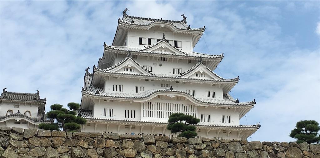 姫路城天守閣1