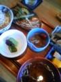 本日は房総の小江戸 大多喜を散歩中、昼ごはんは蔵精にて野菜定食(´