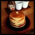 今日の朝ごはんはホットケーキとベトナムコーヒー(´ー`) 新しいコン