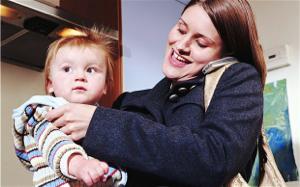 働く女性と育児