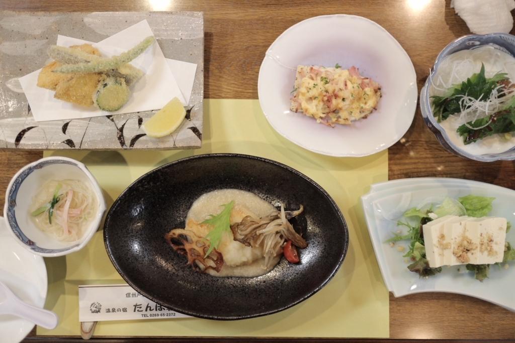 田んぼ荘 食事