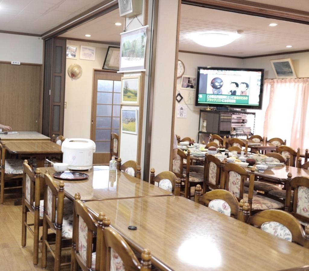 田んぼ荘食堂