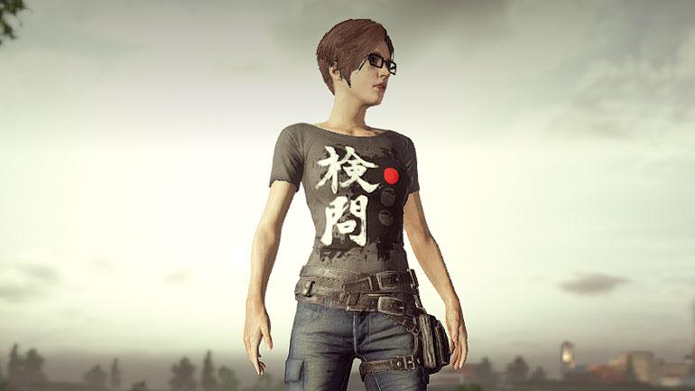 検問Tシャツ