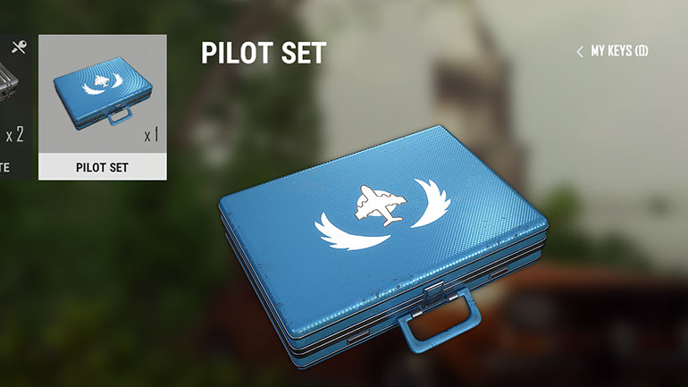 PUBG Twitch Prime pilotセット