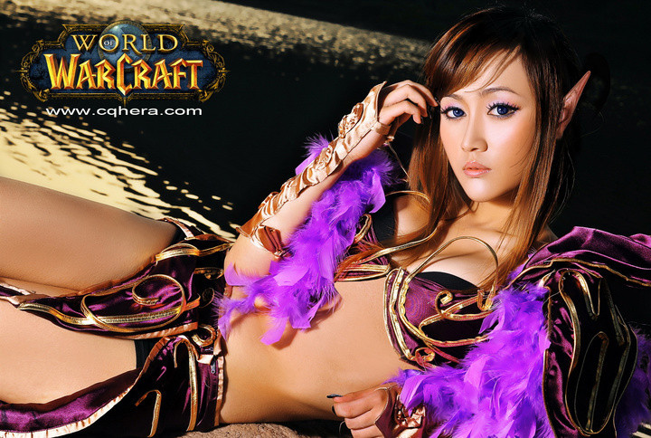 Chinese Night Elf Cosplay   Really Cute Asians