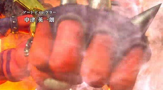 ドラゴンクエスト11PS4オープニング赤い巨人のパンチ攻撃