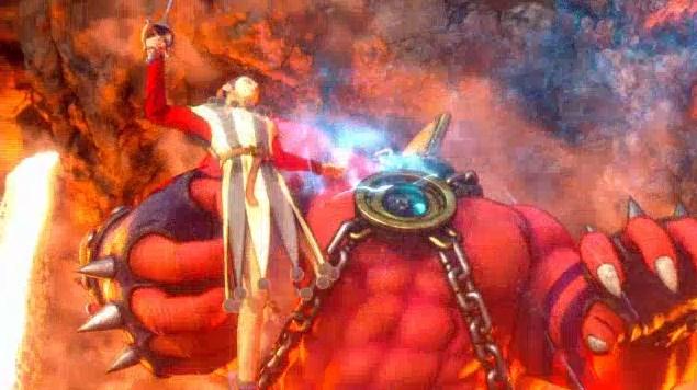 ドラゴンクエスト11PS4オープニング謎ダンサー巨人より脱出