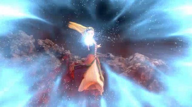 ドラゴンクエスト11PS4オープニングセーニャ氷呪文で援護