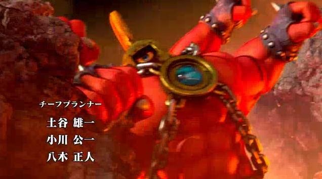 ドラゴンクエスト11PS4オープニング赤い巨人が岩を殴り岩つぶて飛ばすところ