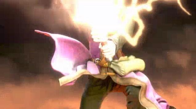 ドラゴンクエスト11PS4オープニング勇者ギガスラッシュモーションフィニッシュ