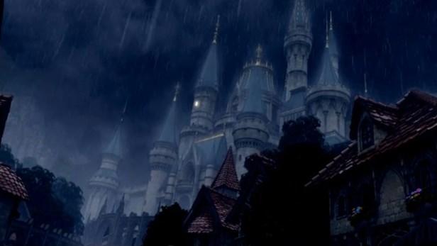 ドラゴンクエスト11PS4ゲームムービー暗雲たちこめて雨降り出す