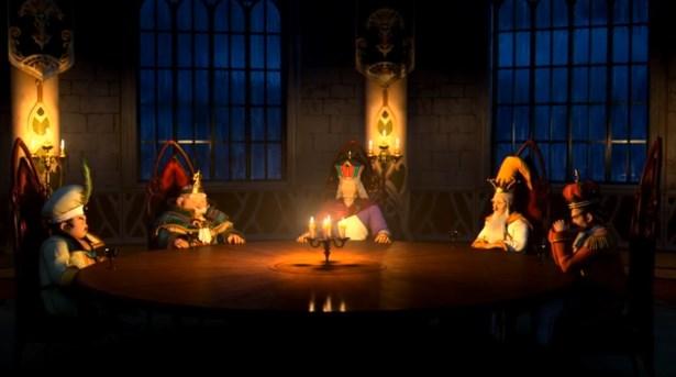 ドラゴンクエスト11PS4ゲームムービーデルカダール王国円卓会議