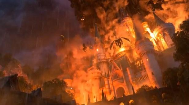 ドラゴンクエスト11PS4ゲームムービーデルカダール王国大炎上