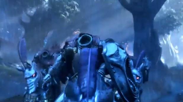 ドラゴンクエスト11PS4ゲームムービーデルカダール王国首なしライダーの追手