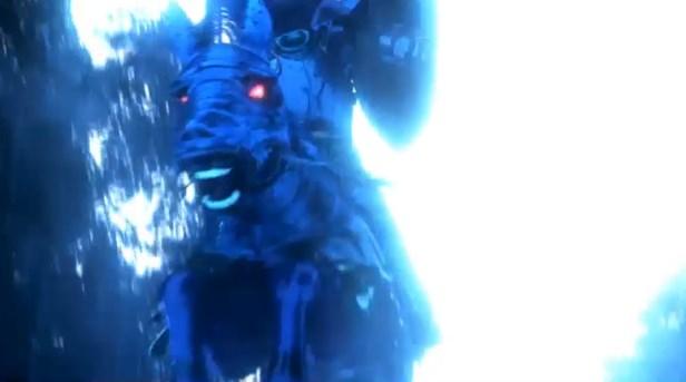 ドラゴンクエスト11PS4ゲームムービー首なしライダーに見つかる少女と勇者赤子