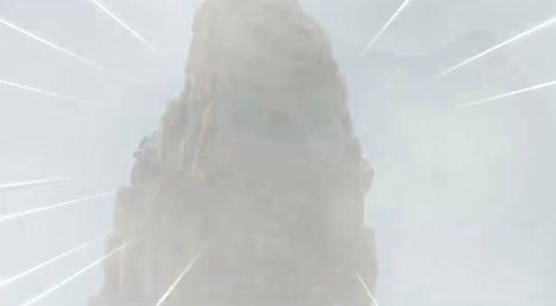 ドラゴンクエスト11PS4ゲームムービー神の岩頂上でガルーダに襲撃される