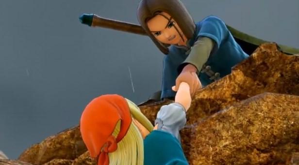 ドラゴンクエスト11PS4ゲームムービー超絶美少女エマ危機一髪で助かる