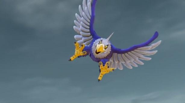 ドラゴンクエスト11PS4ゲームプレイ画面神の岩頂上で鳥の怪物に襲われる
