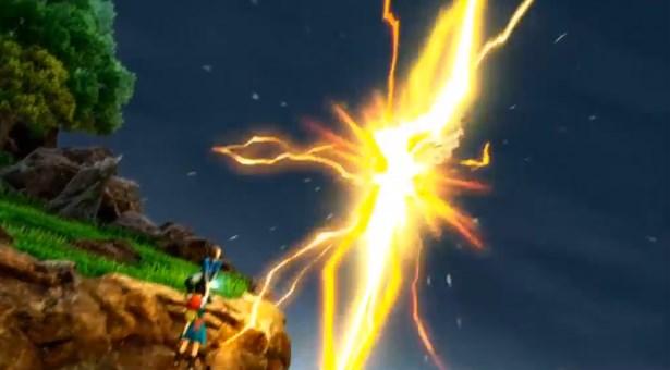 ドラゴンクエスト11PS4ゲームムービーヘルコンドルに命中