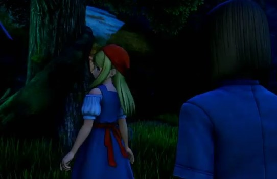 ドラゴンクエスト11PS4ゲームプレイ画面旅立ち前夜のエマ振り返り