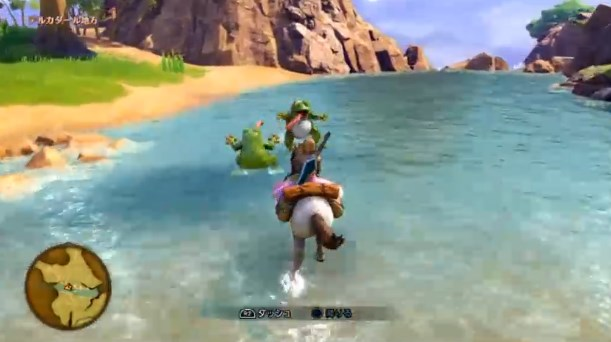 ドラゴンクエスト11PS4ゲームプレイ画面シンボルエンカウントの証拠