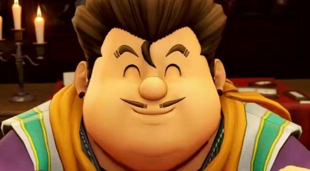 ドラゴンクエスト11PS4ゲームプレイ画面デルカダール王国デクの満面の笑み守りたいこの笑顔