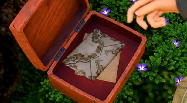 ドラゴンクエスト11PS4ゲームプレイ画面イシの東の大滝近くにある三角岩で箱を見つける